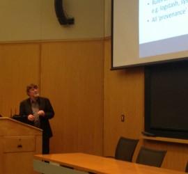 John Burns Speaking at IUG